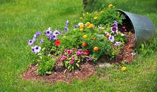 incredible broken pot ideas recycle your garden - Flower Garden Ideas In Pots