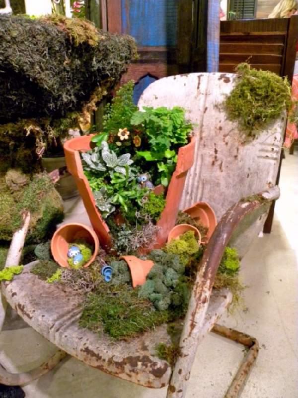 Fairy Garden In A Pot How to make broken pot fairy garden balcony garden web image credits mworksltdwordpress workwithnaturefo