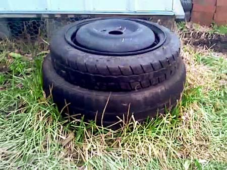 tire furniture - Garden Ideas Using Tyres
