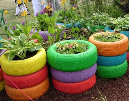 8 Tire Garden Ideas You Must Look On