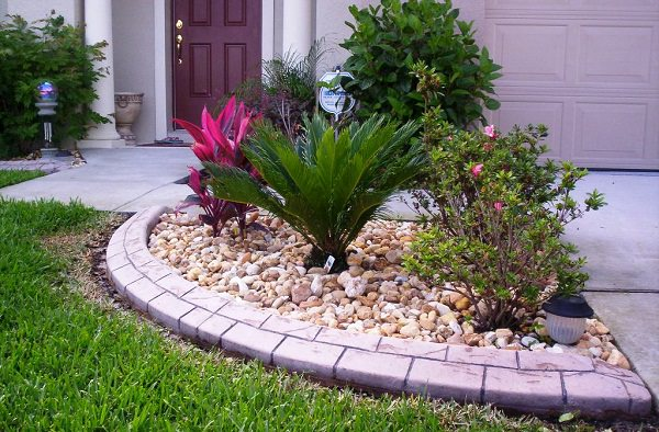 Decorative Stones For Flower Beds : Using bricks in the garden smart ideas for design