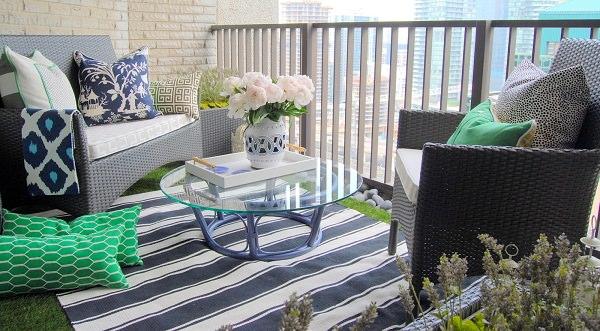 balcony flooring ideas - Patio Flooring Ideas