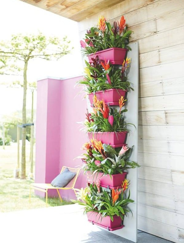 patio and balcony planter ideas - Patio Gardening Ideas