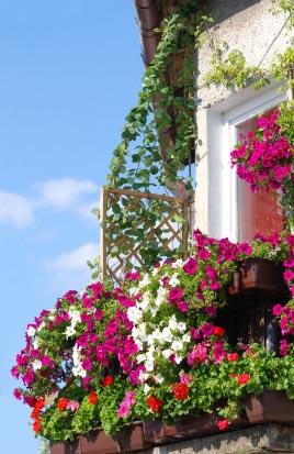 how to make a balcony garden. Black Bedroom Furniture Sets. Home Design Ideas