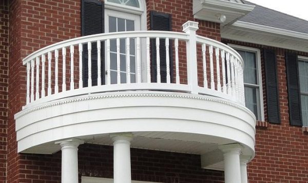 Balcony railing ideas how to choose railings for balcony for Balcony balustrade