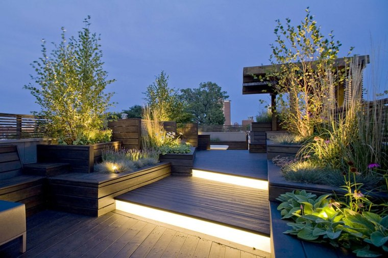 Good Beautiful Terrace Garden (14)