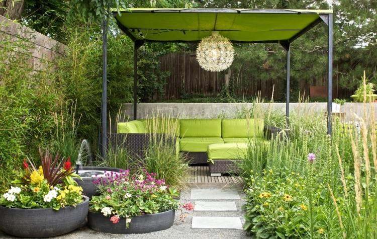 21 beautiful terrace garden images you should look for for Terrace garden ideas