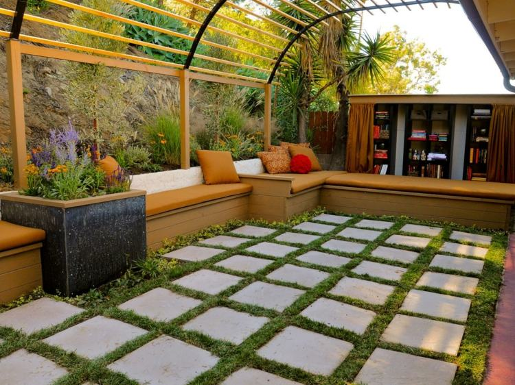 Floor Covering Of Pergolas Make You Feel Like Are In Your Outdoor Home Can Decorate It Mediterranean Style Or Use Stone Tiles For Durability