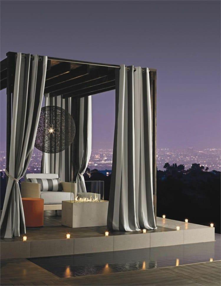 Ideas For Balcony Curtains