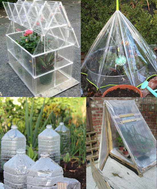 Easy diy mini greenhouse ideas creative homemade for Home garden greenhouse design