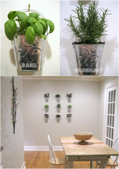 24 indoor herb garden ideas to look for inspiration Herb garden wall ideas