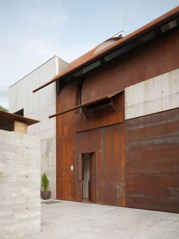 how to make corten rust faster