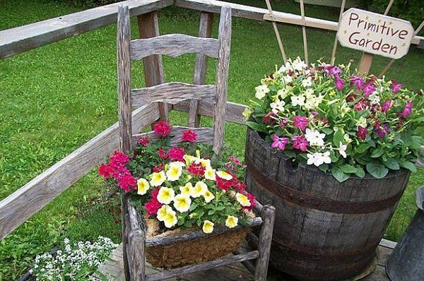 22 Cool Chair Planter Ideas For Home And Garden Balcony