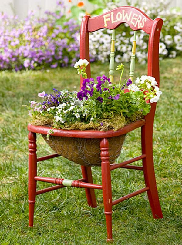 Great Garden Planter Chairs Miihh24s