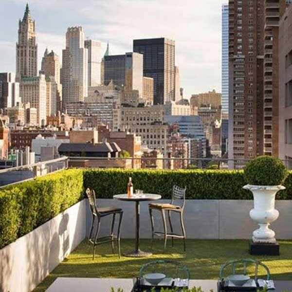 How To Improve Privacy Of Rooftop Garden | Rooftop Garden Ideas