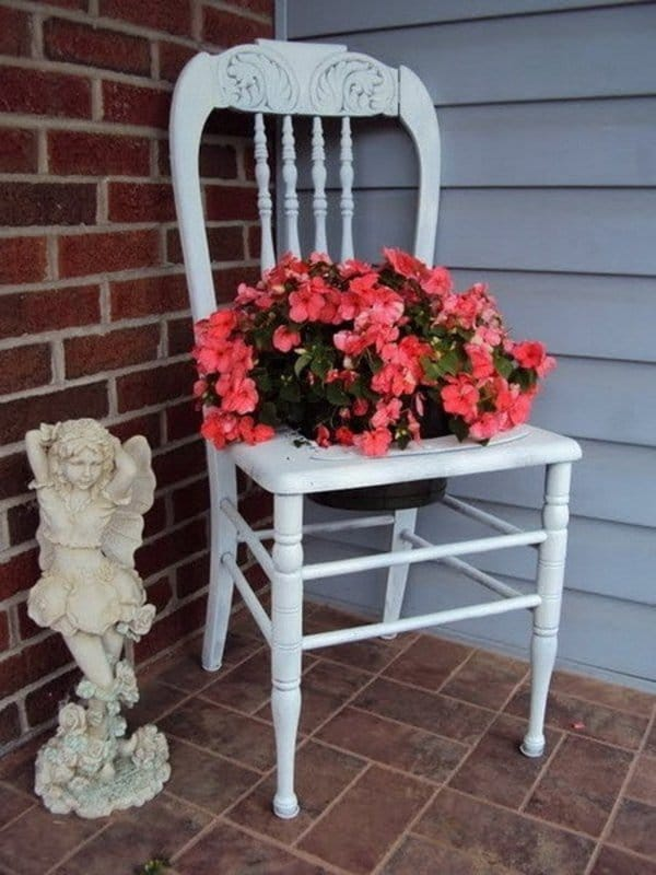 ... How To Make A Chair Planter