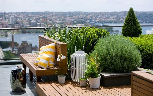 Marvelous Small Roof Terrace