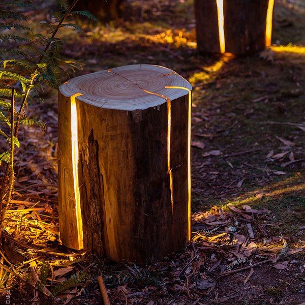 10 Amazing Tree Stump Ideas For The Garden Balcony