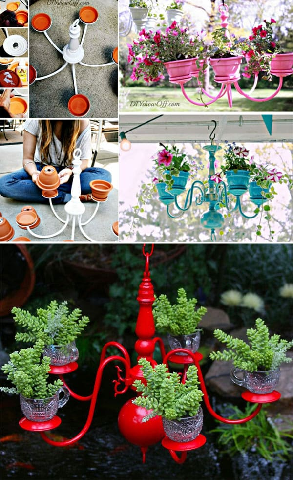 29 insanely creative diy planter ideas from household for Garden planter ideas