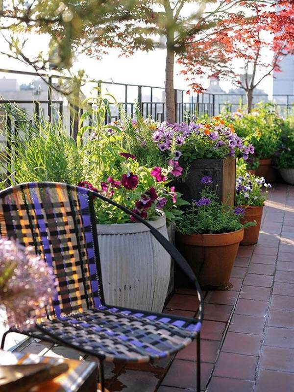 Balcony Garden Design small balcony garden ideas 30 Balcony Decorating Ideas 22