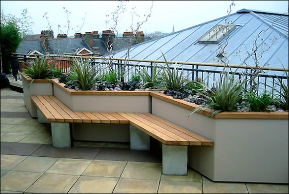 Lovely Rooftop Garden. Rooftop Garden Part 5