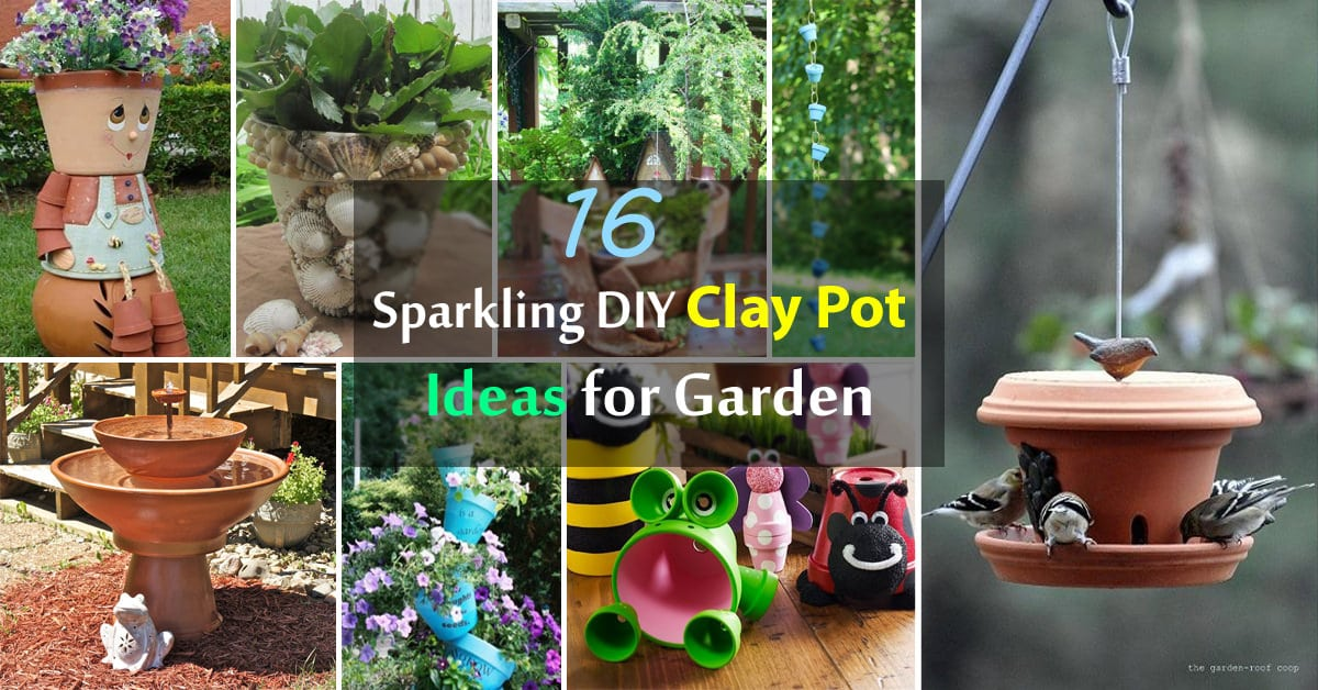 Pot Garden Ideas container gardening ideas 16 Sparkling Diy Clay Pot Ideas For Garden Balcony Garden Web