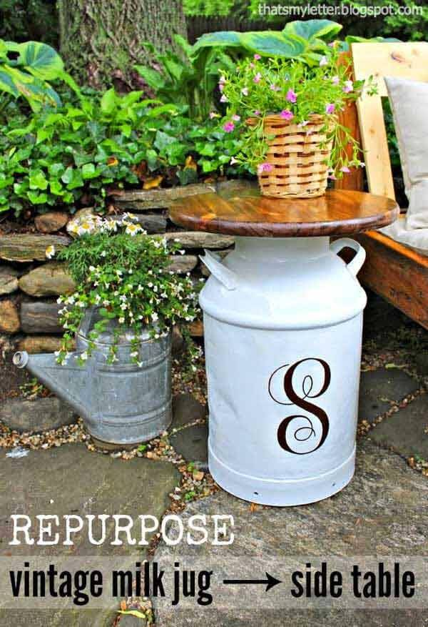 Garden Furniture Tables 20 amazing diy garden furniture ideas | diy patio & outdoor