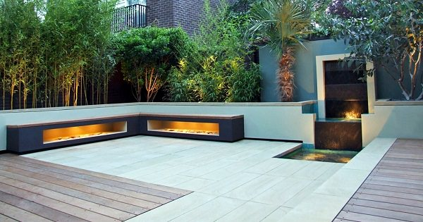 garden flooring ideas. if your roof supports, creating raised beds adjacent to the walls is a good idea. you can add wooden or ones that are made from metal. garden flooring ideas
