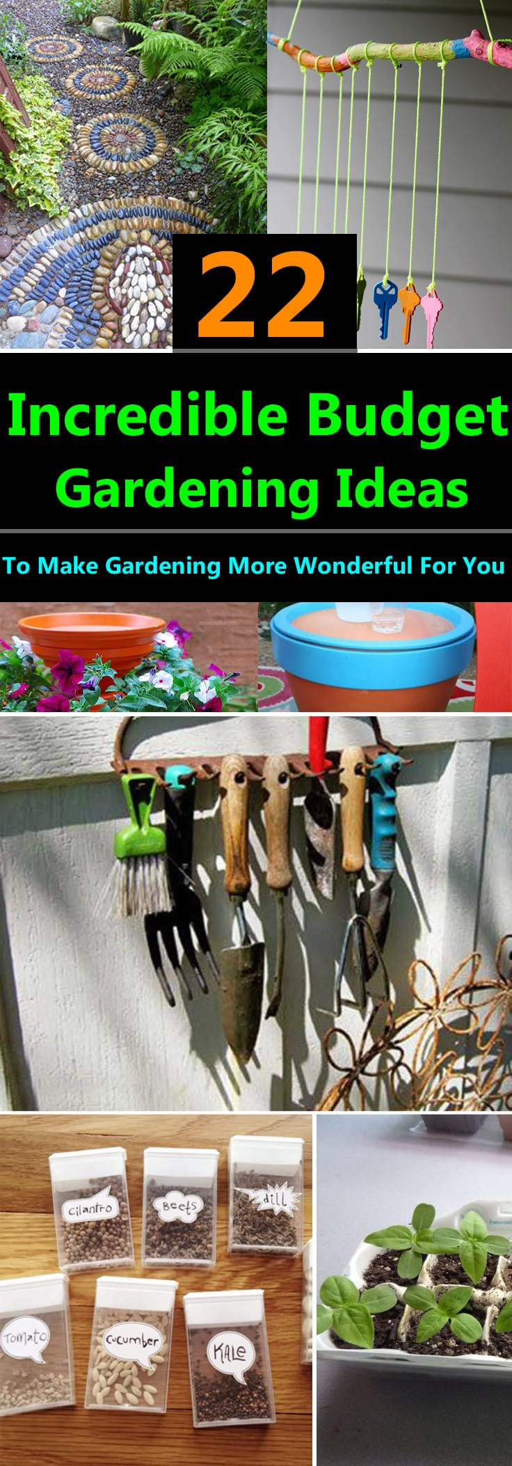 Cheap, Easy And Functional DIY Garden Ideas On A Budget Thatu0027ll Make  Gardening