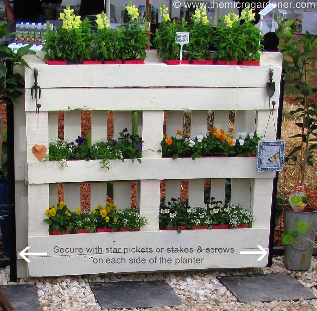 22 incredible budget gardening ideas garden ideas on a budget 22 diy pallet planter garden ideas on a budget workwithnaturefo