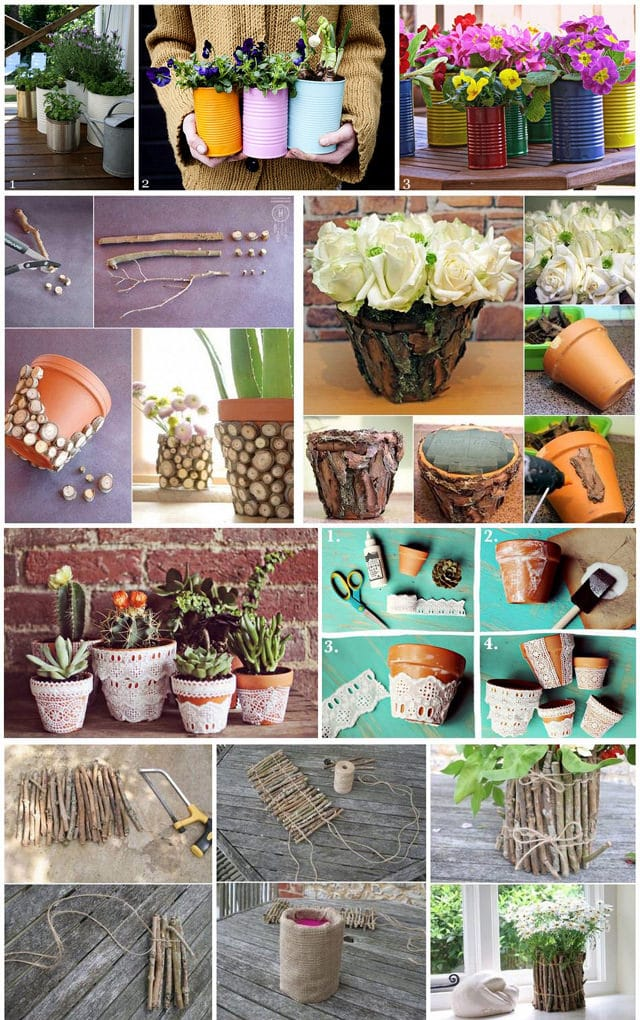diy garden pot decoration ideas - Diy Garden Ideas