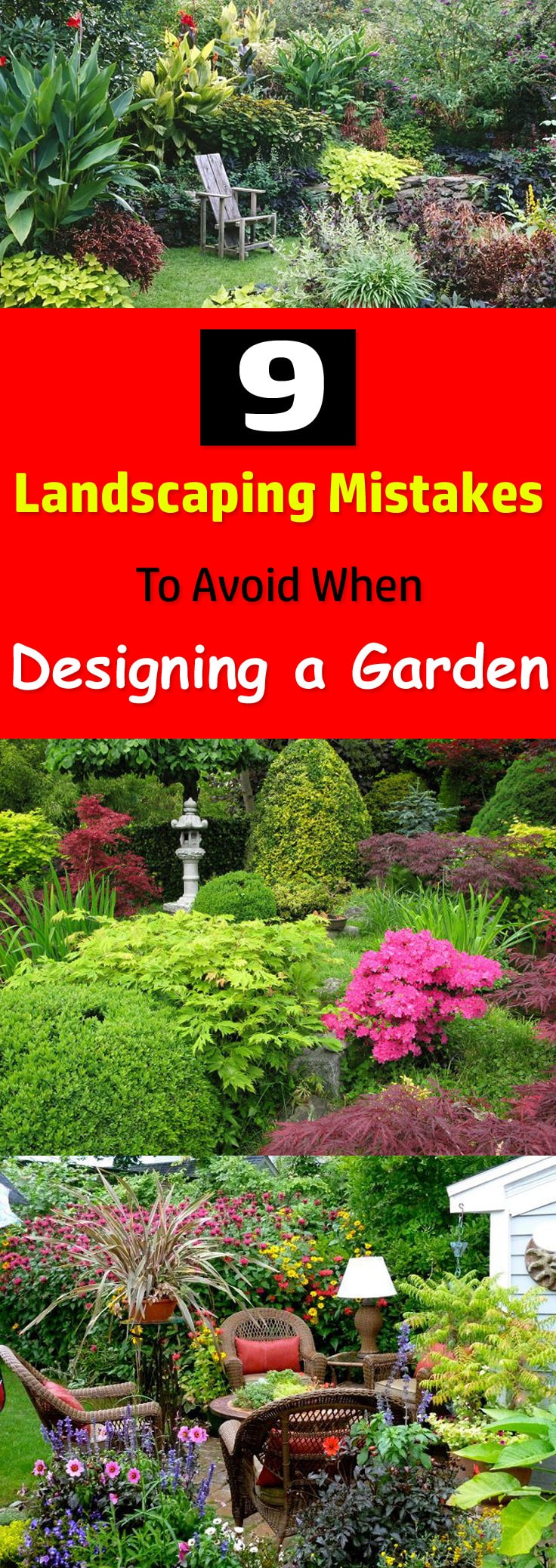 If Having A Beautiful Garden Is Your Biggest Dream Then Avoid Doing These 9  Landscaping Mistakes