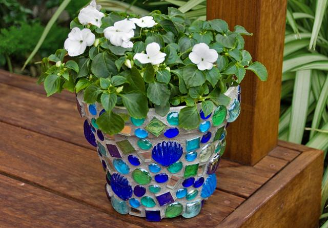 18 Brilliant DIY Mosaic Ideas For Garden | Mosaic Craft | Balcony ...