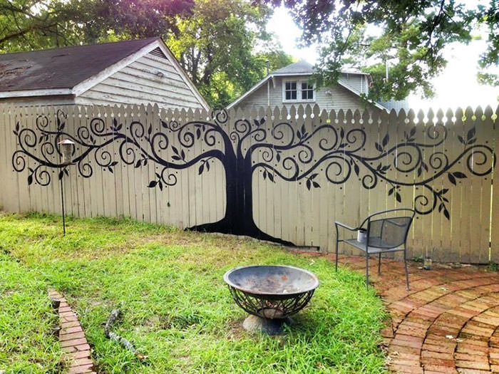Garden Fence Decoration Ideas diy ideas decorate garden decor garden fence Garden Fence Ideas 2