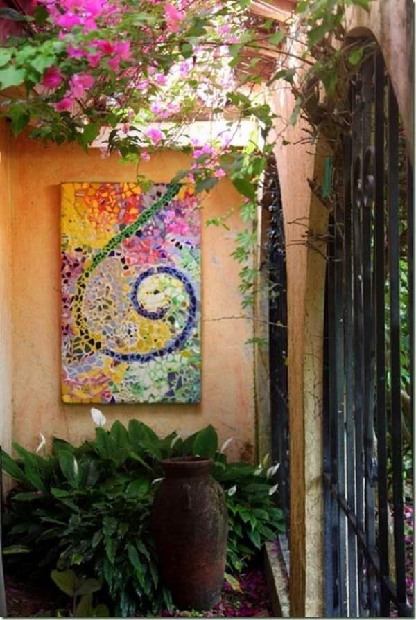 18 Brilliant Diy Mosaic Ideas For Garden Mosaic Craft