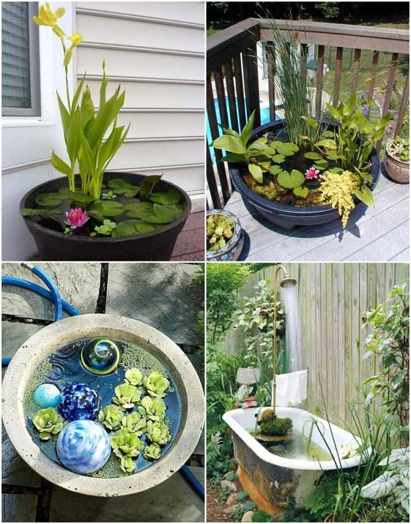 Do You Want To Add A Water Feature To Your Small Garden But Donu0027t Have  Space? If Yes, Then Create A Pond In A Pot.