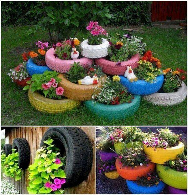 18 Cool DIY Ideas To Make Your Garden Look Great | Balcony Garden Web