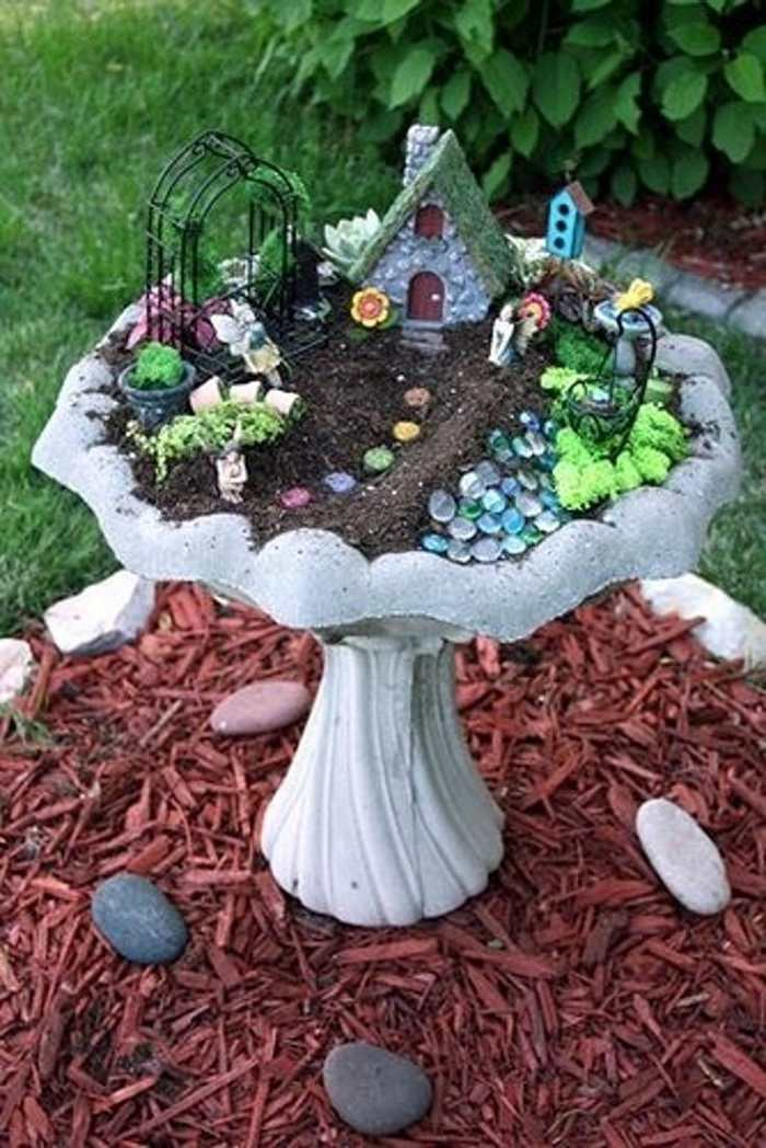Ideas For Fairy Gardens 15 fabulous and cute fairy garden ideas Mini Fairy Garden Ideas