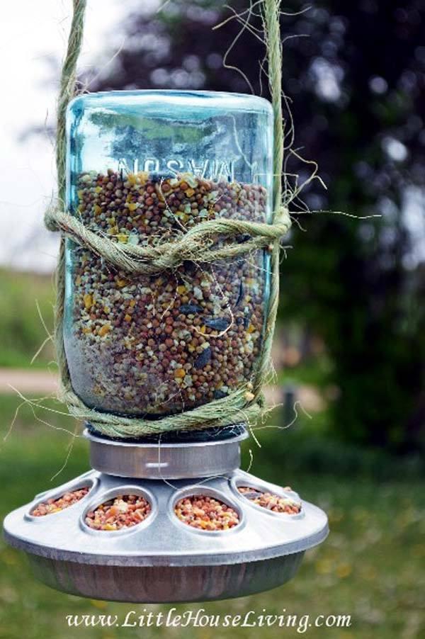 7 Diy Mason Jar Ideas For Garden Balcony Garden Web