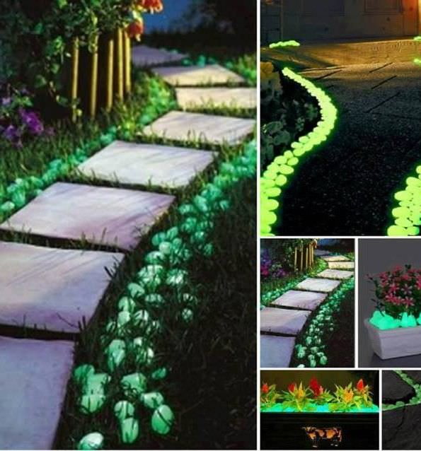 15 spray paint pebbles with glow in the dark paint. Black Bedroom Furniture Sets. Home Design Ideas