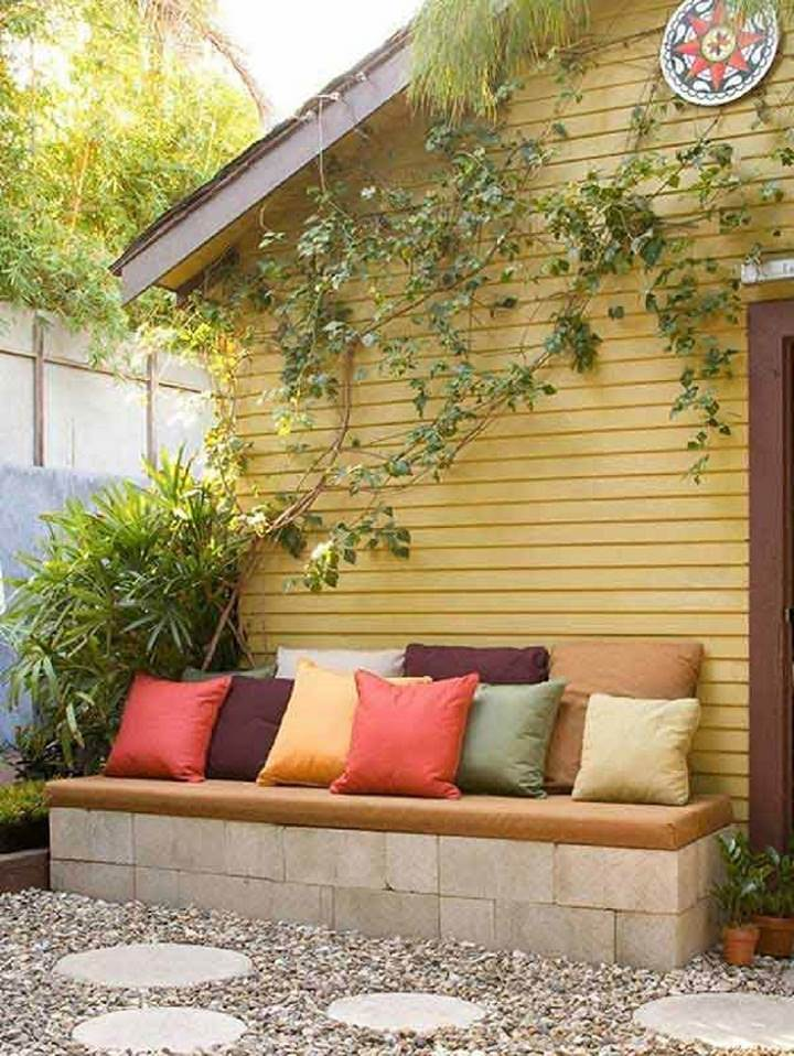 4 Lovely Budget Patio Ideas For Small Backyards | Balcony Garden Web