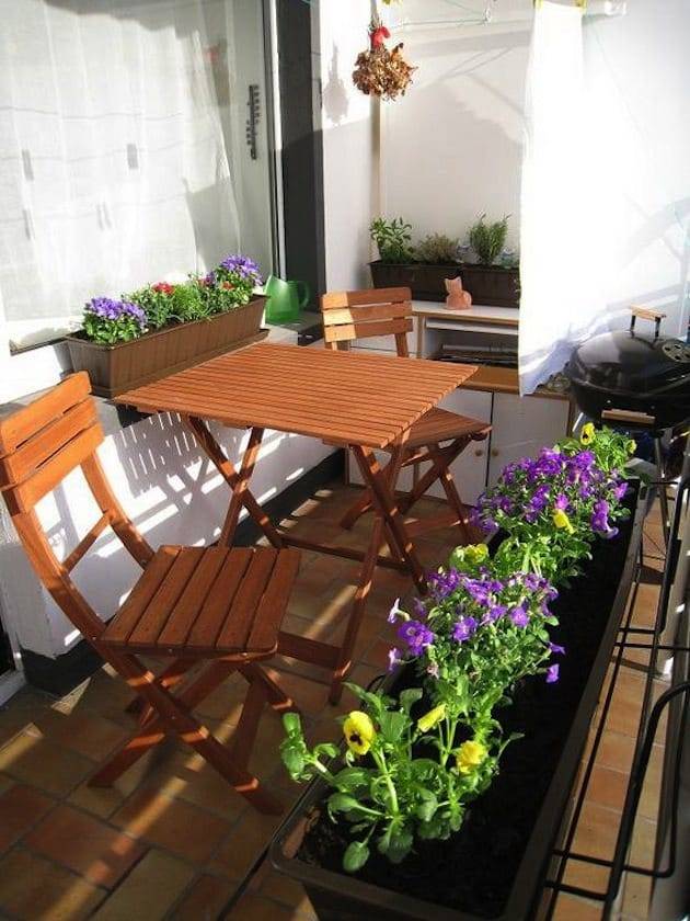 Things To Have In A Balcony Apartment Balcony Ideas