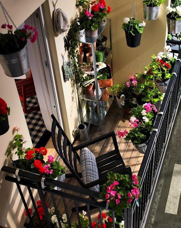Indoor Garden Apartment Balcony