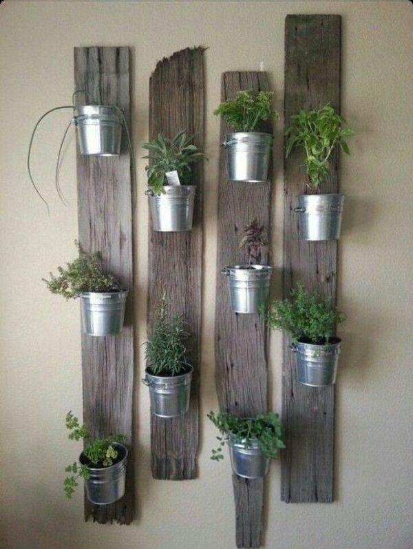 Vertical Indoor Herb Garden 15 brilliant diy vertical indoor garden ideas to help you create vertical pot holder from pallet planks workwithnaturefo