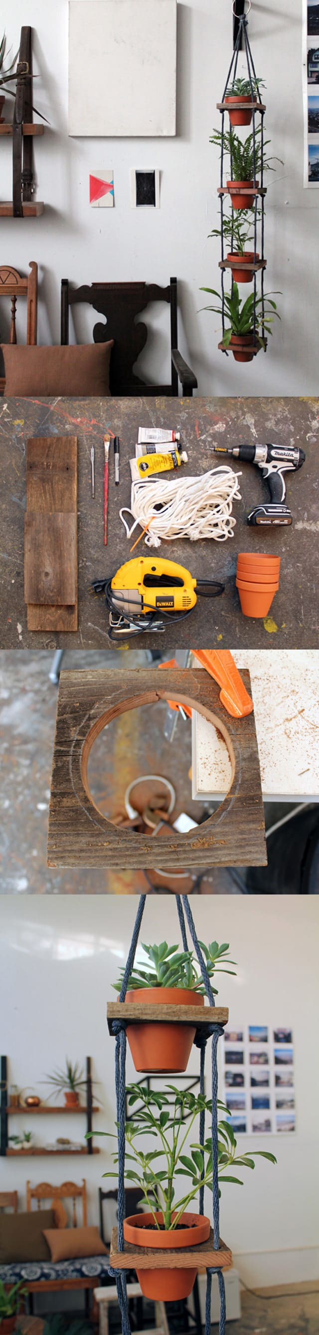 Best And Most Creative DIY Plant Stand Ideas For ...