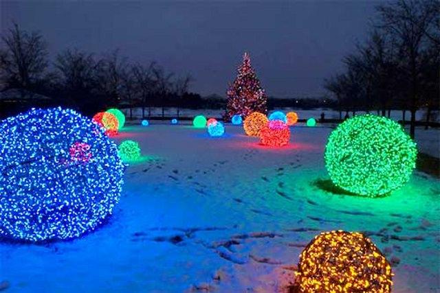 Diy Giant Christmas Light Balls