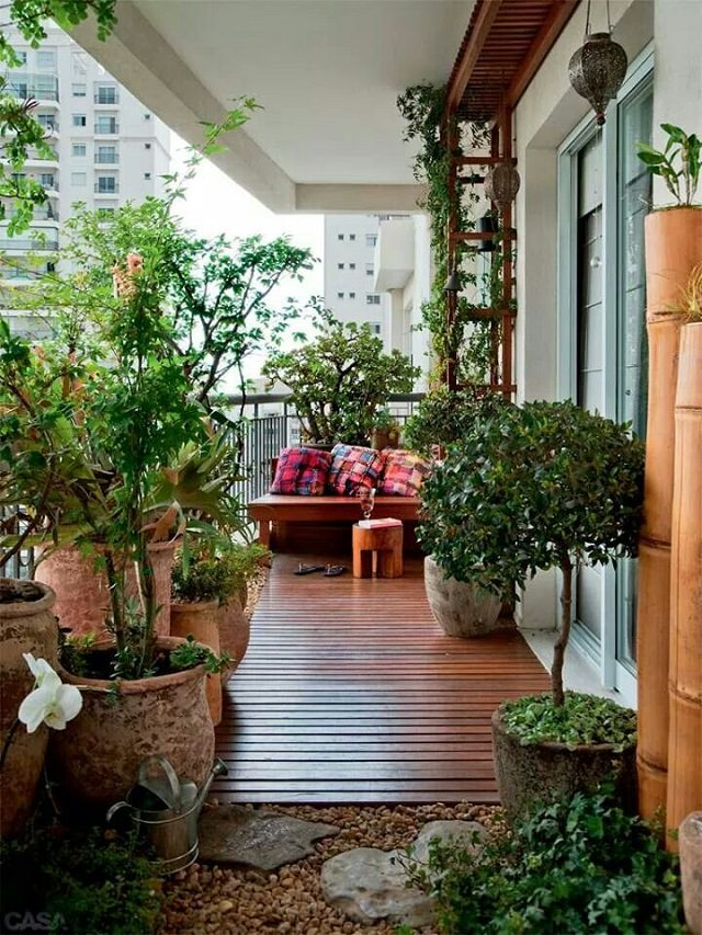Garden Ideas Large Space balcony garden ideas | garden design ideas