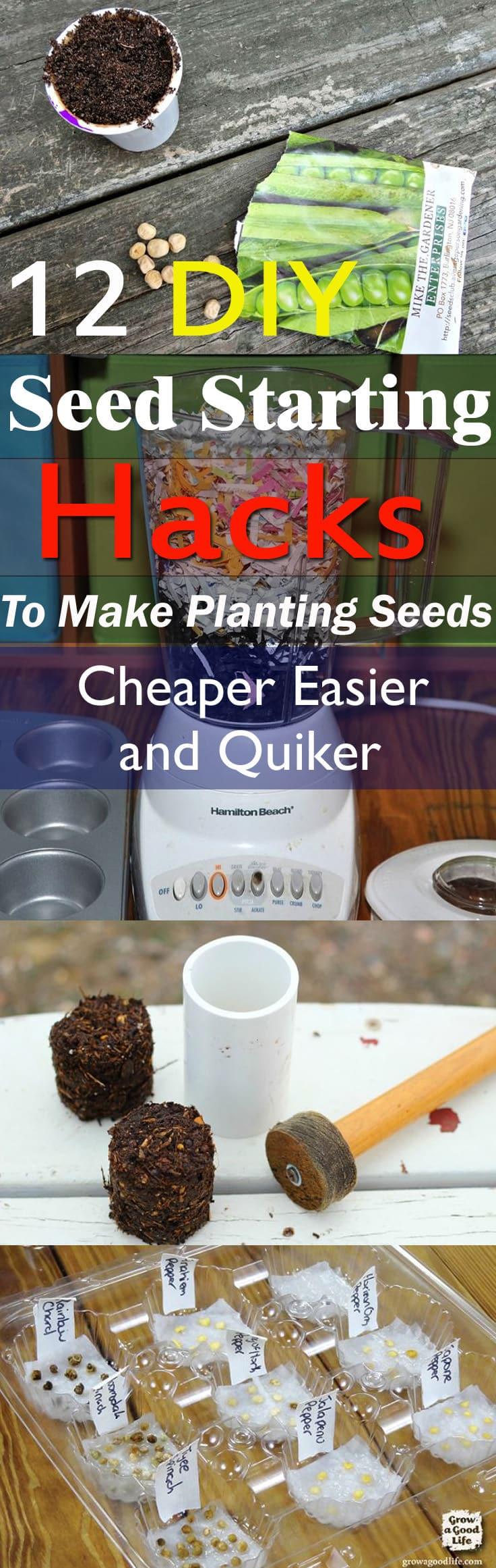 12 Diy Seed Starting Hacks To Make Planting Seeds Cheaper