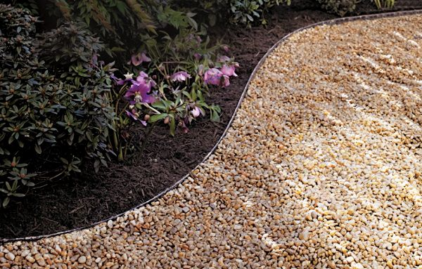 a gravel path is one of the most basic diy garden path ideas you can do its cheap and affordable and easy to do as you dont have to dig very deep
