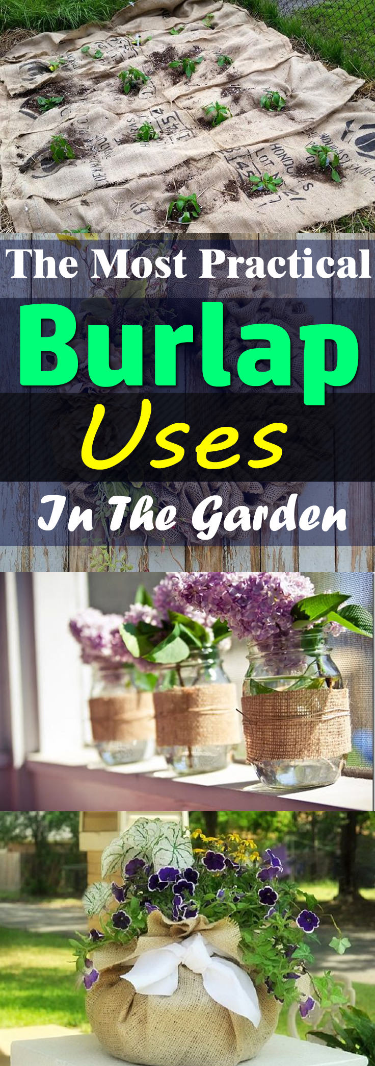 From The Most Practical Burlap Uses To The DIY And Crafts For Home And  Garden,